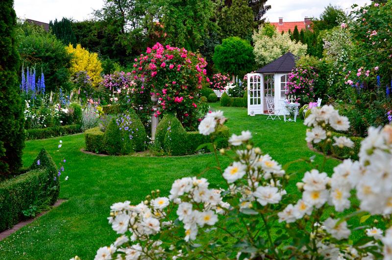Rosengarten Bergschneider Parks Und Gärten